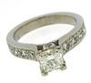 Fancy Platinum 1.52ctw Diamond Ring