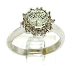 Gorgeous Diamond Halo Ring