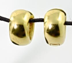 Always Popular 14K Huggie Earrings