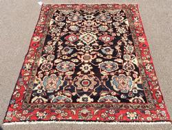 Captivating 1960s Handmade Vintage Persian Meshg-Abad