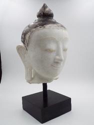 Rare Antique  Shan Period BURMESE Buddha head statue