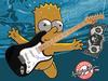 Matt Groening Autographed w/ Bart Simpson Art Sketch Gu