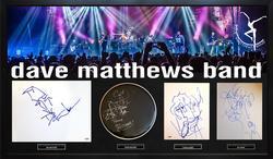 Dave Matthews Band Art Sketches Custom Display Case AFT