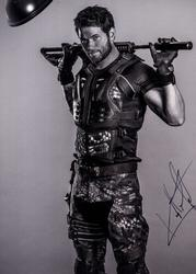 Kellan Lutz Signed 11x14 Expendables Poster Photo RACC