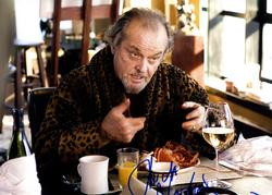 Jack Nicholson Autographed The Departed 11x14 Poster Ph