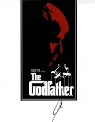Al Pacino Signed 11x14 The Godfather Promotional Photo