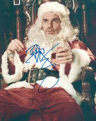 Billy Bob thornton Autographed 8x10 Bad Santa Photo RAC