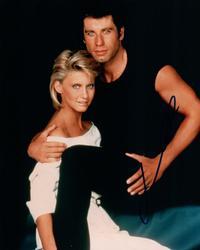 John Travolta Autographed Signed 8x10 Grease Photo RACC