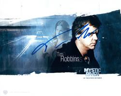 Tim Robbins Autographed 8x10 Mystic River Photo RACC TS