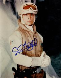 Mark Hamill Autographed Signed 8x10 Star Wars Hoth Phot