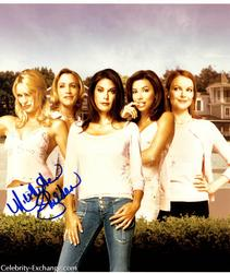 Desperate Housewives Nicollette Sheridan Signed 11x13 P