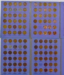 2 Full Penny Binders, 1941-1964