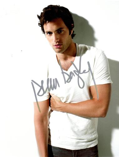 Penn Badgley Autographed Signed 8x10 Gossip Girl Photo