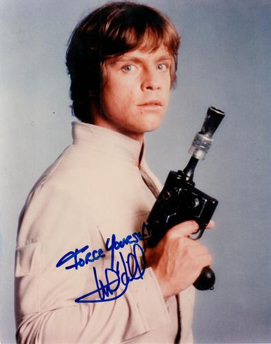 Mark Hamill Autographed Signed 8x10 Star Wars Photo RAC