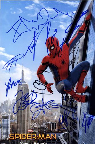 Spiderman Homecoming Autographed Signed 11x14 Photo RAC