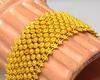 Eye-Catching Solid 24K Gold Bracelet, 6.5in