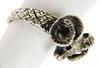 Vintage Sterling Silver Ram's Head Ring