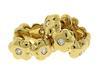 Tiffany & Co. 18kt Diamond Flower Earrings