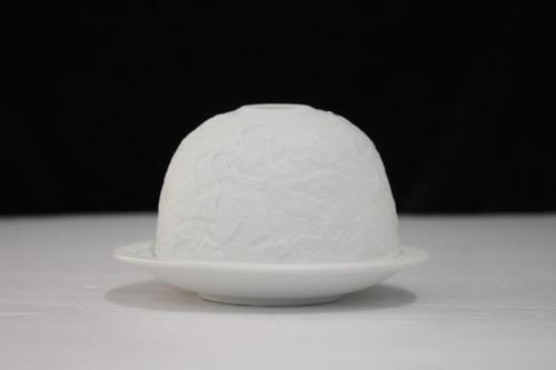Porcelain Santa Votive Holder