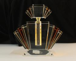 Diva Amber Perfume Crystal Bottle