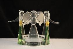 Angel Pillar Candleholder