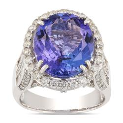 Antique Style Heirloom Tanzanite Ring