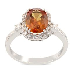 Extraordinary 2.44ctw Orange Sapphire in 18KT Gold