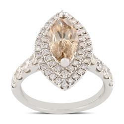 Marquise Diamond Ring in 18KT Gold