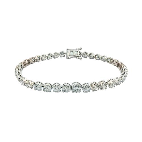 Sparkling 8.55ctw Diamond Tennis Bracelet