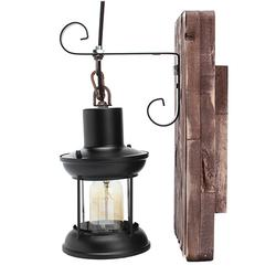 E27 Vintage Industrial Metal Sconce Wall Lamp Fixture