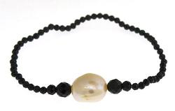 Pearl and Spinel Bracelet