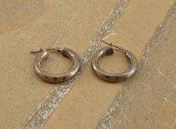 hoops Earrings Silver