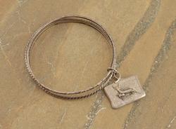deer Bracelet Silver