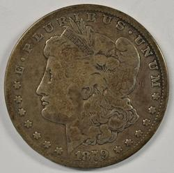 Rare key date 1879-CC Morgan Silver Dollar