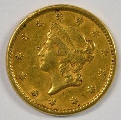 Sharp 1851 US Type One $1 Gold Piece