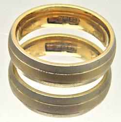 MEN'S 14 KT GOLD WEDDING BAND