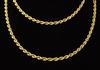 30in Heavy 14K Gold Rope Chain