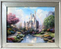 Thomas Kinkade Disney Series On Canvas