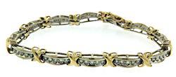 Popular 1.8ctw White Gold Channel Set Dimaond Bracelet