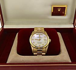 Gents Rolex 18kt Day-Date President Watch