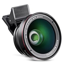 2 in 1 High Definition 4K Wide Lens Macro for Camera
