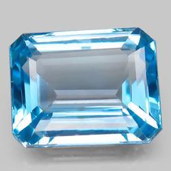 Exceptional 16.50ct emerald cut Topaz