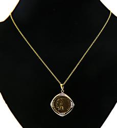 22kt Indian Head Coin Pendant