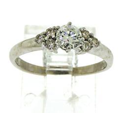 Luminous 14kt Diamond Ring