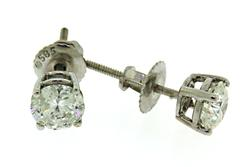 Timeless 14kt Diamond Solitaire Studs