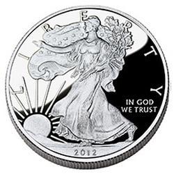 Proof Silver Eagle 2012-W