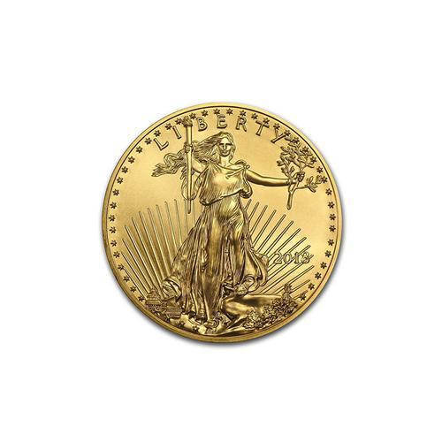 2018 American Gold Eagle 1/10 oz Uncirculated