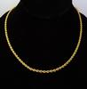 Heavy 14K Gold Rope Chain, 18in