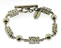 Silver Lois Hill Toggle Bracelet