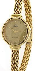 Ladies 18k Omega Vintage Watch
